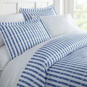 Rugged Stripe Duvet Cover Set Full/Queen